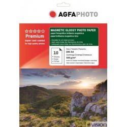 Hartie AGFA magnetica 10x15 (4R/A6) glossy 680g/mp 10 coli