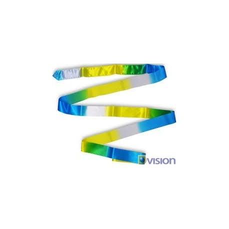 Panglica Dvision in 3 culori pentru gimnastica ritmica si dans
