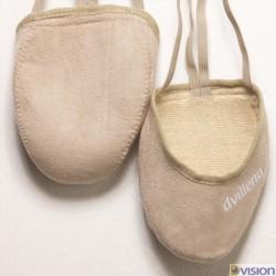 Varfuri gimnastica ritmica Africa (cipici, half shoes, toe caps) marca Dvillena