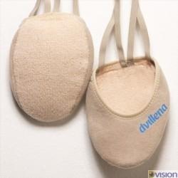 Varfuri gimnastica ritmica Pekin (cipici, half shoes, toe caps) marca Dvillena