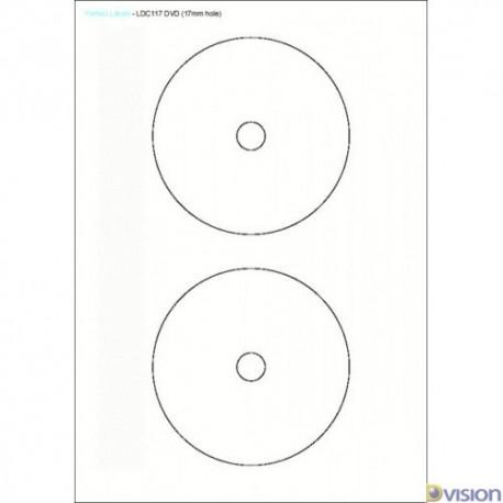 Etichete pentru CD autocolante (autoadezive)