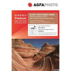 Hartie AGFA 4R (10x15) glossy single side 210g/mp pachet 100 coli