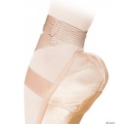 Panglica satin cu insertie elastica Grishko 0510/3 pentru pointe si flexibili