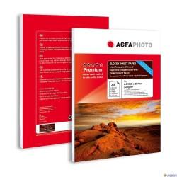 Hartie AGFA A4 lucioasa double sided (fata-verso) 220g/mp pachet 20 coli