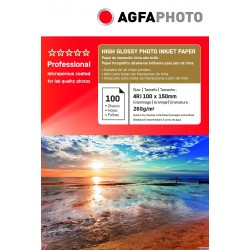 Hartie Agfa Photo 10x15 (4R) RC High Glossy 260g