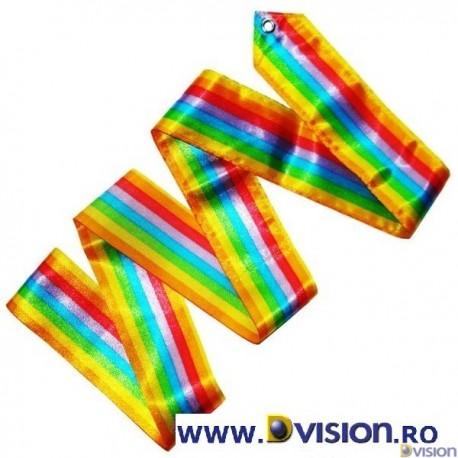 Panglica Dvision Rainbow pentru gimnastica ritmica si dans