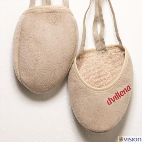 Varfuri gimnastica ritmica Guante (cipici, half shoes, toe caps) marca Dvillena