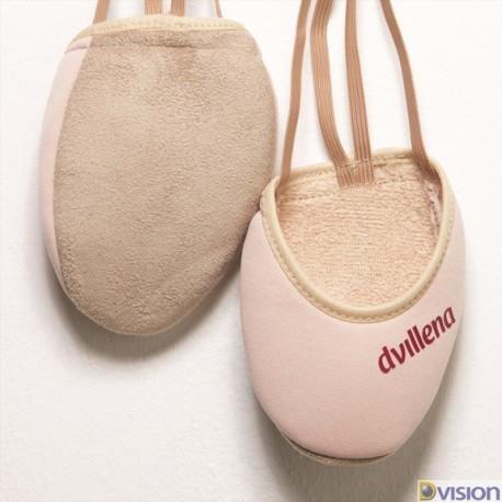 Varfuri gimnastica ritmica Elegante (cipici, half shoes, toe caps) marca Dvillena