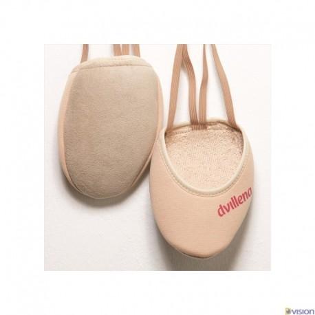 Varfuri gimnastica ritmica Ritmiquera (cipici, half shoes, toe caps) marca Dvillena