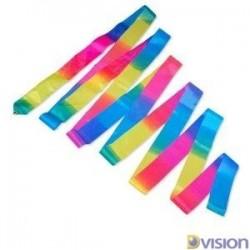 Panglica Dvision multicolora pentru gimnastica ritmica si dans