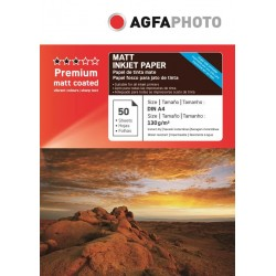 Hartie AGFA A4 mata single side 130g/mp pachet 50 coli